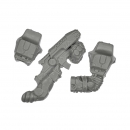 MANTIC: Deadzone / Warpath - Enforcers - Peacekeepers - Weapon I - Rifle+Gauntlet+Shoulder Pad