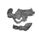 Warhammer 40K Bitz: Black Templars Chapter Upgrade - Bolter+Arm D