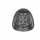 Warhammer 40K Bitz: Black Templars Chapter Upgrade - Shoulder Pad C