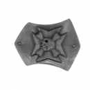 Warhammer 40K Bitz: Black Templars Chapter Upgrade - Terminator Shoulder Shield A