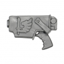 Warhammer 40K Bitz: Dark Angels Ravenwing Command Squad Bolt Pistol E Holster Left