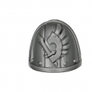 Warhammer 40K Bitz: Dark Angels Ravenwing Command Squad Shoulder Pad I