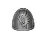 Warhammer 40K Bitz: Dark Angels Ravenwing Command Squad Shoulder Pad J