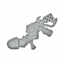 Warhammer 40k Bitz: Blood Angels - Death Company - Weapon N - Flamer Pistol, Right