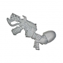 Warhammer 40k Bitz: Blood Angels - Death Company - Weapon O - Flamer Pistol, Left