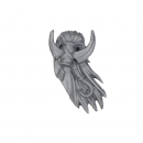 Warhammer 40k Bitz: Dark Eldar - Kabalite Warriors - Accessory B - Head Piece, Sybarite