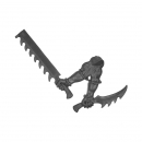 Warhammer 40k Bitz: Dark Eldar - Wracks - Arm L - Right, Blades