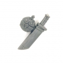 Warhammer 40k Bitz: Imperial Guard - Cadian Command Squad - Water Bottle A - Knife