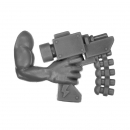 Warhammer 40k Bitz: Orks - Mek Gun - Gretchin Arm G - Right, Slugga