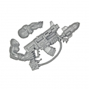 Warhammer 40k Bits: Orks - Ork Nobz - Weapon A - Bazzukka Kombi Weapon+Arm