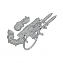 Warhammer 40k Bits: Orks - Ork Nobz - Weapon B - Bazzukka Kombi Weapon+Arm