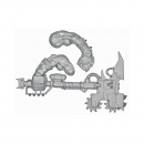 Warhammer 40k Bits: Orks - Ork Nobz - Weapon G - Big Choppa+Arm