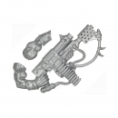 Warhammer 40k Bits: Orks - Ork Nobz - Weapon K - Gitburna Kombi Weapon+Arm
