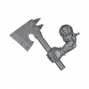 Warhammer 40k Bitz: Orks - Ork Boyz - Weapon L - Choppa, Left, Axe