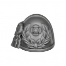 Warhammer 40k Bitz: Space Marines - Vanguard Veteran Squad - Shoulder Pad L