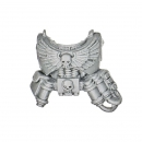 Warhammer 40k Bitz: Space Marines - Command Squad - Torso F - Front Apothecary