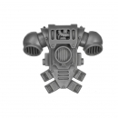 Warhammer 40k Bitz: Space Marines - Tactical Squad 2013 - Backpack D