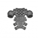 Warhammer 40k Bitz: Space Marines - Tactical Squad 2013 - Backpack E