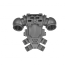 Warhammer 40k Bitz: Space Marines - Tactical Squad 2013 - Backpack F