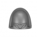 Warhammer 40k Bitz: Space Marines - Tactical Squad 2013 - Shoulder Pad I