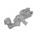 Warhammer 40k Bitz: Space Wolves Pack Arm With Bolter A
