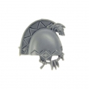 Warhammer 40k Bitz: Space Wolves Wolfs Guard Terminators Shoulder Pad D