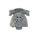 Warhammer 40k Bitz: Space Wolves Wolfs Guard Terminators Shoulder Pad I