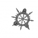 Warhammer Bitz: Warriors of Chaos - Gorebeast-/ Chaos Chariot - Accessory B - Banner Top, Right