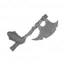 Warhammer Bitz: Warriors of Chaos - Putrid Blightkings - Weapon Arm M - Axe, Right (King C)