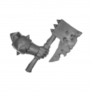 Warhammer Bitz: Warriors of Chaos - Putrid Blightkings - Weapon Arm V - Axe, Right (King E)