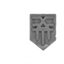Warhammer Bitz: Warriors of Chaos - Skullcrushers of Khorne - Accessory K - Shoulder Shield