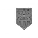 Warhammer Bitz: Warriors of Chaos - Skullcrushers of Khorne - Accessory L - Shoulder Shield