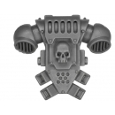 Warhammer 40k Bitz: Space Marines - Tactical Squad 2013 - Backpack I