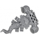 Warhammer 40k Bitz: Space Wolves Thunderwolf Cavalry Backpack A