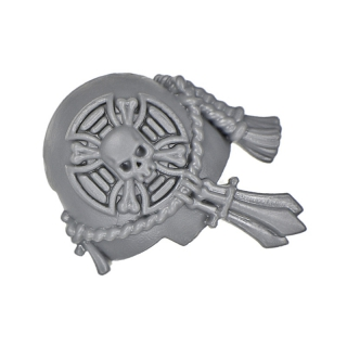 Warhammer 40k Bitz: Dark Angels Deathwing Terminators Shoulder Pad B Champion
