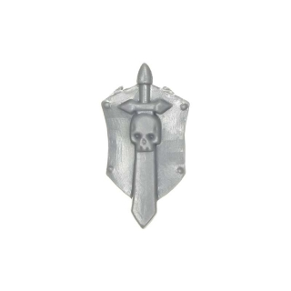Warhammer 40k Bitz: Dark Angels - Veteranen - Accessory Z2 - Shoulder Shield