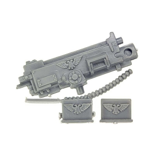 Warhammer 40k Bitz: Imperial Guard - Imperial Heavy Weapon Squad - Heavy Bolter Set