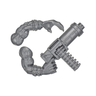 Warhammer 40k Bitz: Orks - Ork Boyz - Weapon P - Shoota+Arm