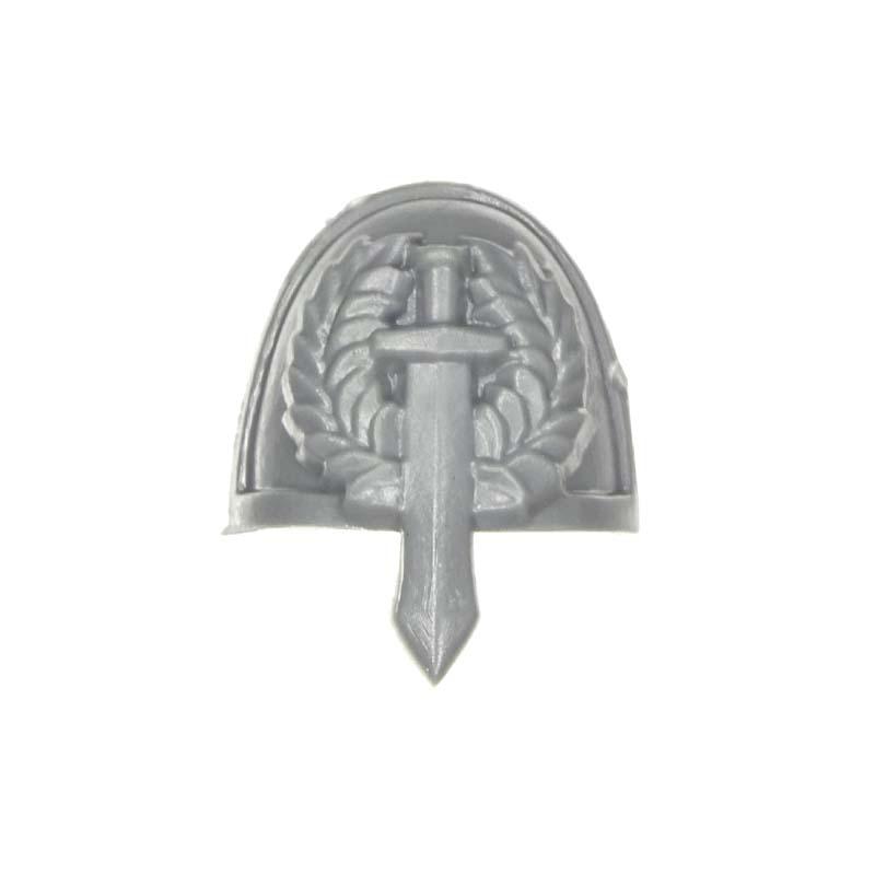 Games Workshop Warhammer 40k Dark Angels Veterans Veteran Shoulder Pad Bit New H