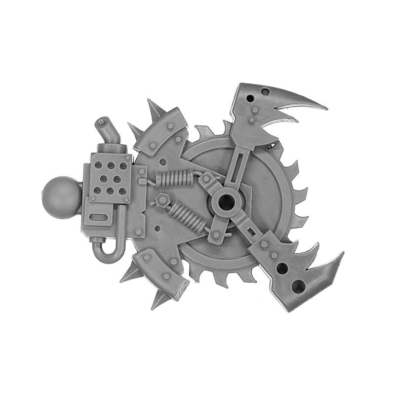 Warhammer 40K Ork Deff Dread Close Combat Weapon arm Power Claw b bits