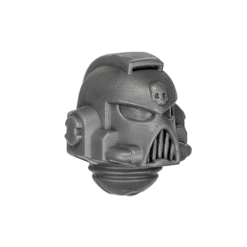 *BITS* 5x Chaos Space Marines Kopf D