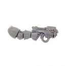 Warhammer 40K Bitz: Chaos Space Marines - Chaos Space Marines - Arm K - Right, Plasma Pistol