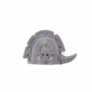 Warhammer 40K Bitz: Chaos Space Marines - Chaos Space Marines - Shoulder Pad I