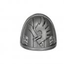 Warhammer 40K Bitz: Dark Angels Ravenwing Command Squad Shoulder Pad D Huntmaster
