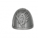 Warhammer 40K Bitz: Dark Angels Ravenwing Command Squad Shoulder Pad G