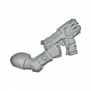 Warhammer 40k Bitz: Blood Angels - Death Company - Weapon W - Plasma Pistol, Right
