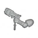 Warhammer 40k Bitz: Blood Angels - Death Company - Weapon X - Plasma Pistol, Left
