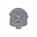 Warhammer 40k Bitz: Dark Angels Deathwing Terminators Shoulder Pad E Sergeant