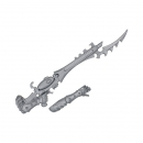 Warhammer 40k Bitz: Dark Eldar - Kabalite Warriors - Weapon F - Splinter Rifle+Arm