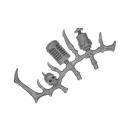 Warhammer 40k Bitz: Dark Eldar - Talos / Cronos - Accessory H - Left, Bone Rack